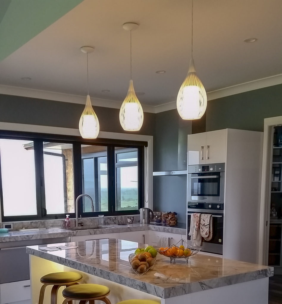 Rediential electrician kitchen lighting