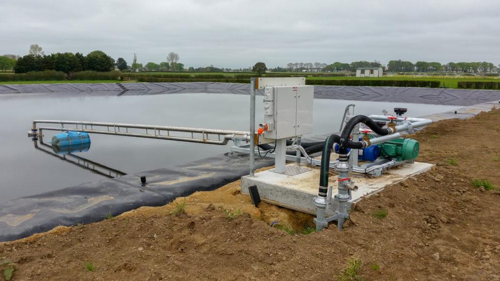 rural electrician effluent system