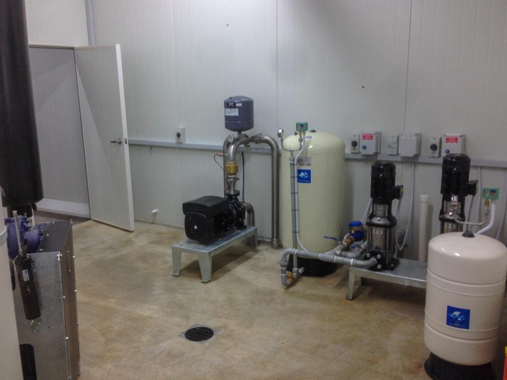 rural electrician pump room